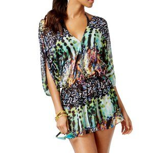 NWT Rachel Roy Tail Feathers Electric Cover-Up